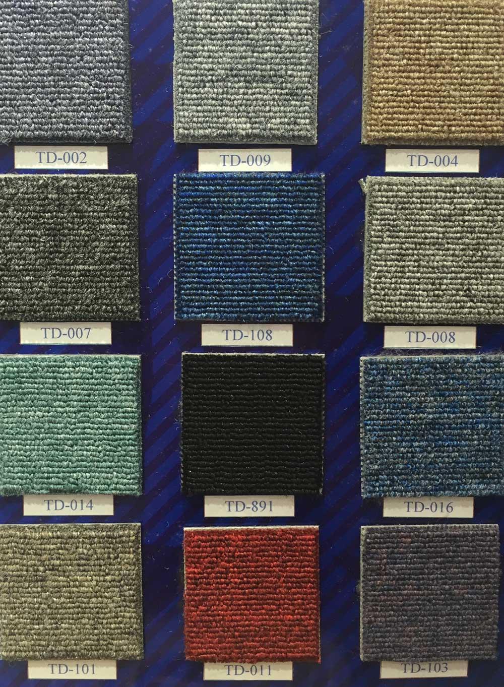Td Standard Carpet Tile Collection