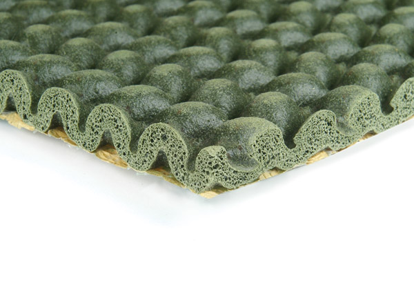 carpet underlay screwfix. tredaire new supreme carpet underlay sponge rubber waffle screwfix