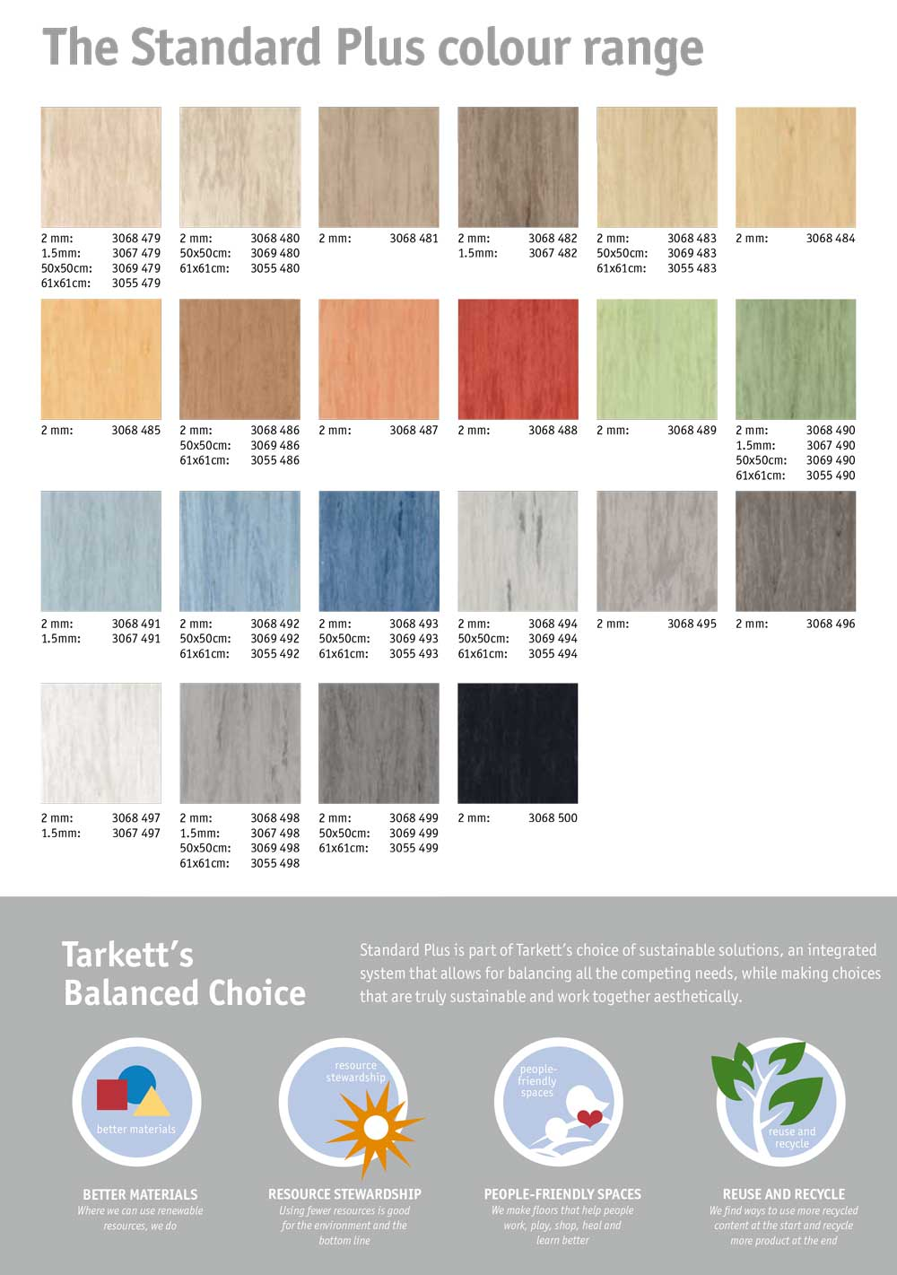 Tarkett Standard Plus 2 Mm Takyin Vinyl Flooring