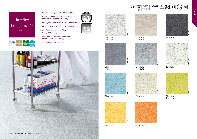 Tapiflex Excellence 65 Flocons Takyin Vinyl Flooring