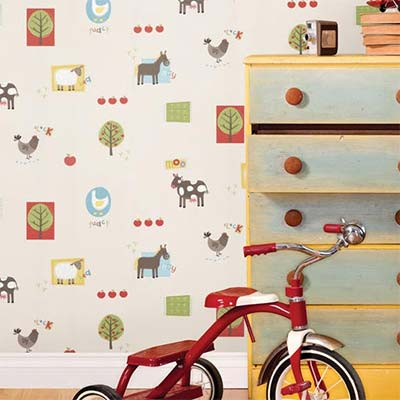 Modern Kids Wallpaper