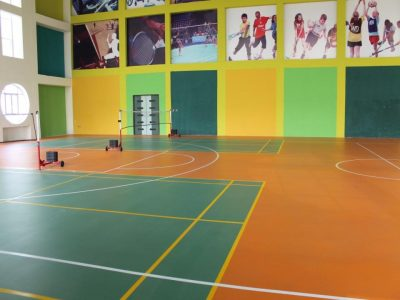 Indoor Sports Flooring Solution